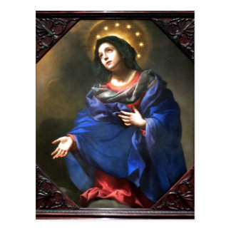 Cartão Postal Carlo Dolci, Italia, Madonna 1616-1686 na glória,