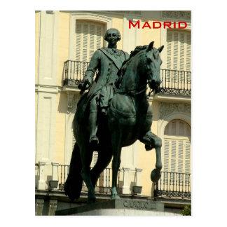 Cartão Postal Carlos III