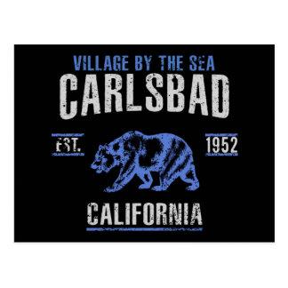 Cartão Postal Carlsbad