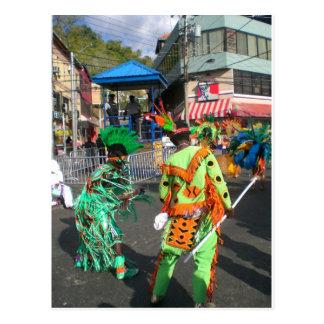 Cartão Postal Carnaval 2010 em Trinidad