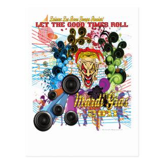Cartão Postal Carnaval 2011 o palhaço II