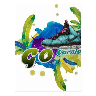 Cartão Postal Carnaval de Dance4Life