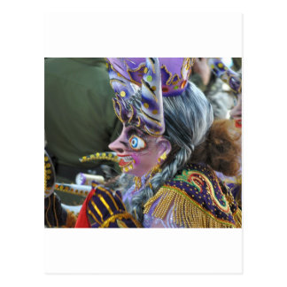 Cartão Postal Carnaval em Oruro, Bolívia