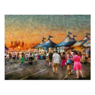 Cartão Postal Carnaval - quem quer giroscópios