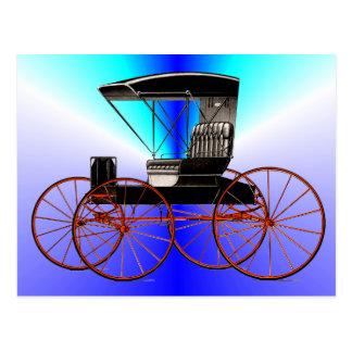 Cartão Postal Carrinhos e carruagems