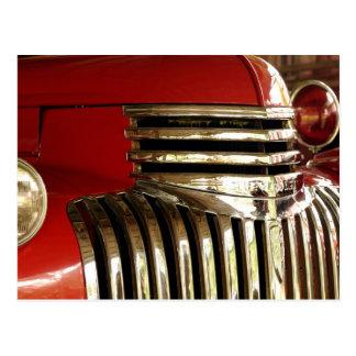 Cartão Postal Carro de bombeiros!