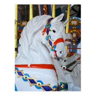 Cartão Postal Carrossel Cavalo do rei Arthur