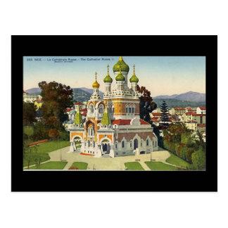 Cartão Postal Cartão, agradável, La Cathedrale Russe