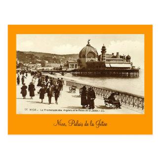 Cartão Postal Cartão, agradável, Palais de la Jetee