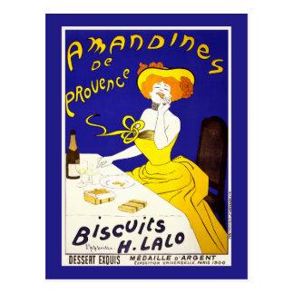 """Cartão Postal Cartão: """"Amandines de Provence"""" por Cappiello"""