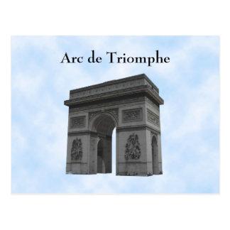 Cartão Postal Cartão: Arco do Triunfo