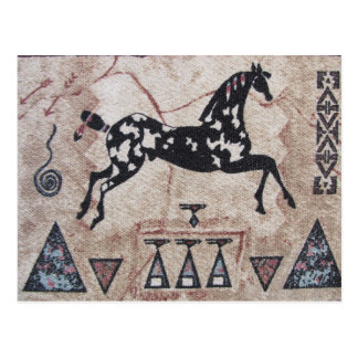 Cartão Postal Cartão--Arte do nativo americano