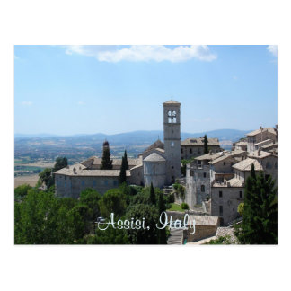 Cartão Postal Cartão--Assisi