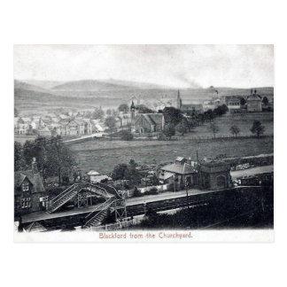 Cartão Postal Cartão, Blackford, Perth e Kinross velhos