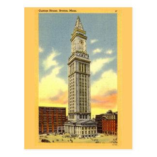 Cartão Postal Cartão, Boston, Massachusetts