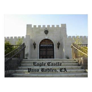 Cartão Postal Cartão: Castelo de Eagle, Paso Robles, CA