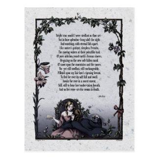 """Cartão Postal """"Cartão do Victorian da estrela brilhante"""" de"""