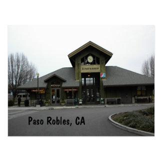 Cartão Postal Cartão: Estação de caminhos-de-ferro de Paso