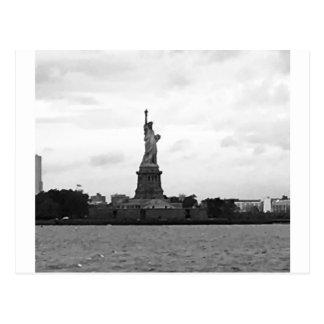 Cartão Postal Cartão: Estátua da liberdade