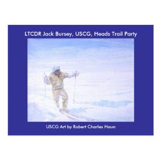 Cartão Postal Cartão/exploração ártica