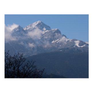 """Cartão Postal """"Cartão feito sob encomenda dos cumes austríacos"""""""