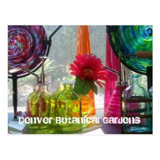 Cartão Postal Cartão: Jardins botânicos de Denver