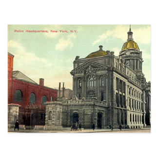 Cartão Postal Cartão, matrizes de polícia, Nova Iorque, 1911