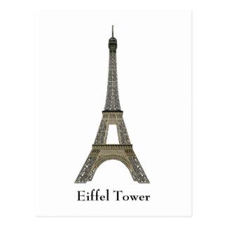 Cartão Postal Cartão: Paris: Torre Eiffel