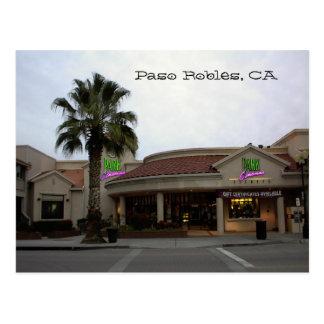Cartão Postal Cartão, Parque-Cinemas, Paso Robles, CA