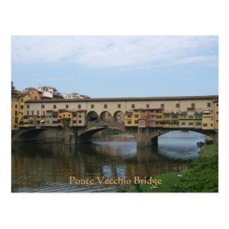 Cartão Postal Cartão--Ponte de Ponte Vecchio