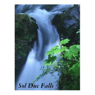 Cartão Postal Cartão: Quedas do solenóide Duc