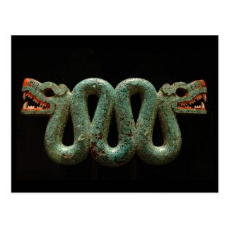 Cartão Postal Cartão: Serpente asteca