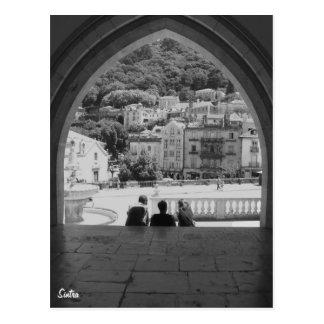 Cartão Postal Cartão-Sintra de Portugal