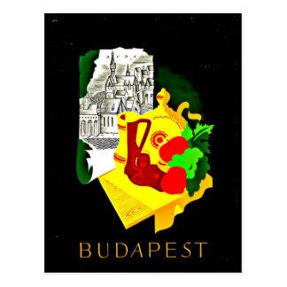 Cartão Postal Cartão-Vintage Viagem-Budapest