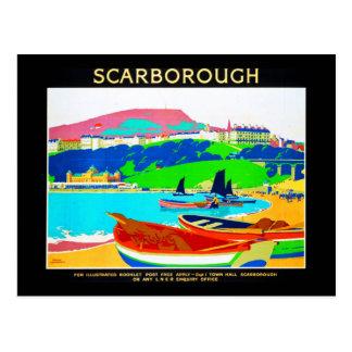 Cartão Postal Cartão-Vintage Viagem-Scarborough