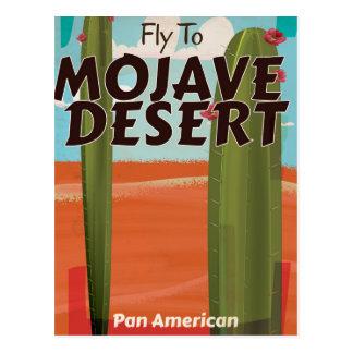 Cartão Postal Cartaz das viagens vintage dos EUA do deserto de