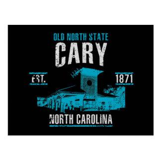 Cartão Postal Cary