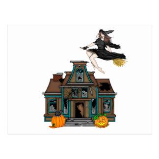 Cartão Postal Casa assombrada