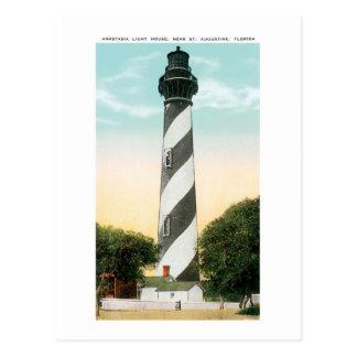 Cartão Postal Casa clara de Anastasia, St Augustine, FL