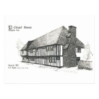Cartão Postal Casa da capela, Rainham