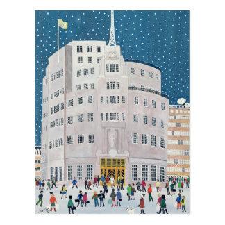 Cartão Postal Casa da transmissão da BBC