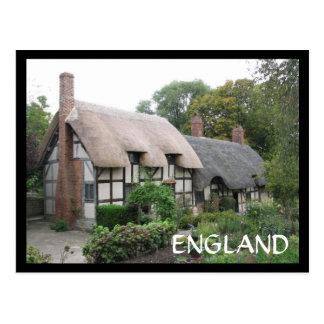Cartão Postal Casa de campo de Ann Hathaway