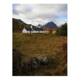 Cartão Postal Casa de campo de Blackrock, Glencoe, Scotland