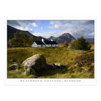 Cartão Postal Casa de campo de Blackrock, Scotland