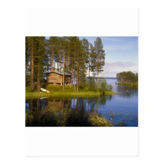 Cartão Postal Casa de campo, Finlandia