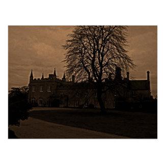 Cartão Postal Casa de Cotswold, Reino Unido