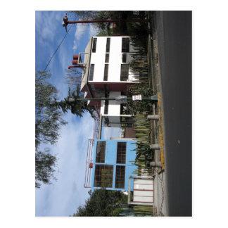 Cartão Postal Casa de Diego Rivera e de Frida, San? ngel,