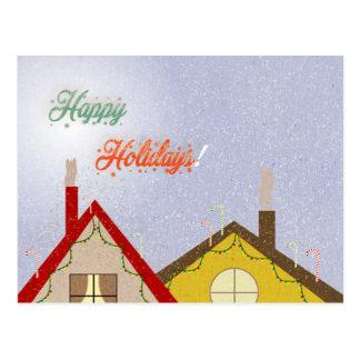 Cartão Postal Casa de férias