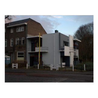Cartão Postal Casa de Rietveld Schröder, Utrecht