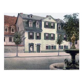 Cartão Postal Casa de Schiller